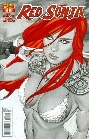 Red Sonja Vol 5 #1 Cover M 2nd Ptg by Jenny Frison