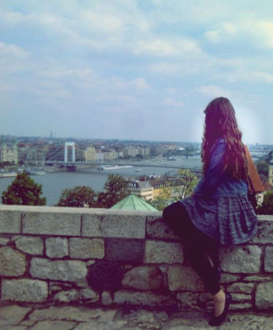 Helga's photo. I love the view of Budapest!