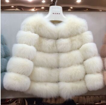2015 Hot-Selling Winter coat long Striped Faux Fur Coat Luxury Fox Fur Coats Women Fashion Fur Overcoat US $53.13 To Buy Or See Another Product Click On This Link  http://goo.gl/yekAoR