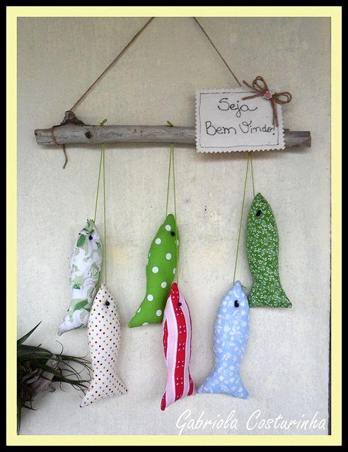♥♥ Pendurico de peixinhos ♥♥   Flickr – Compartilhamento de fotos!