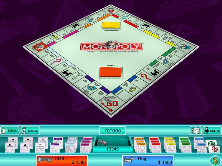 монополия играть бесплатно без регистрации