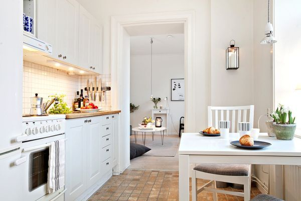 Small yet spacious and beautifully-organized 39 square meter apartment
