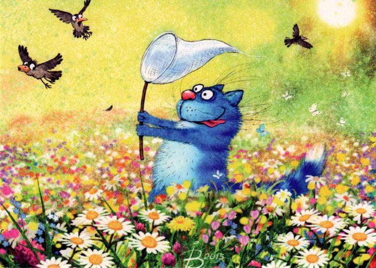 Фотографии Синие коты Рины Зенюк – 2 альбома