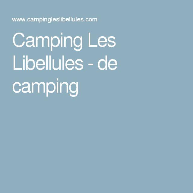 Camping Les Libellules - de camping
