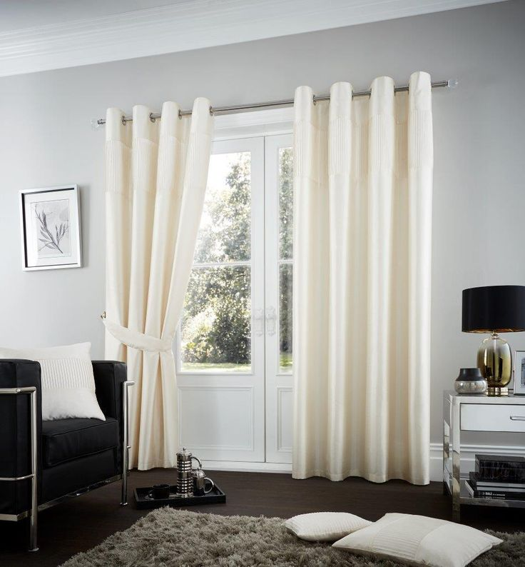 Fuel Lined Eyelet Curtains | Cream – Linens Range