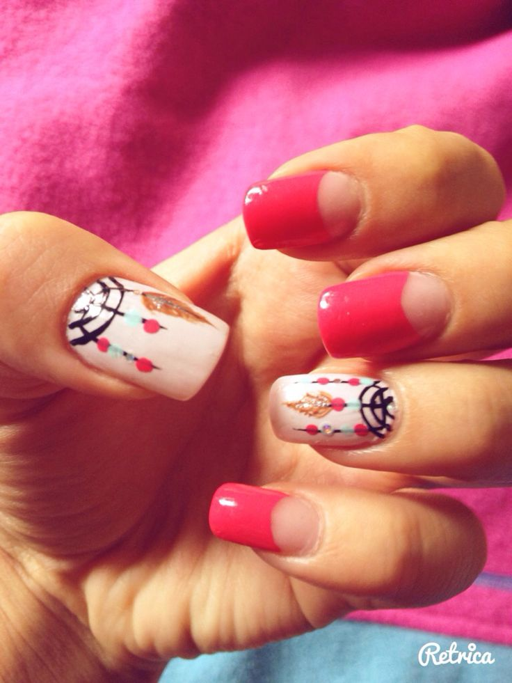 Uñas atrapasueños so girly