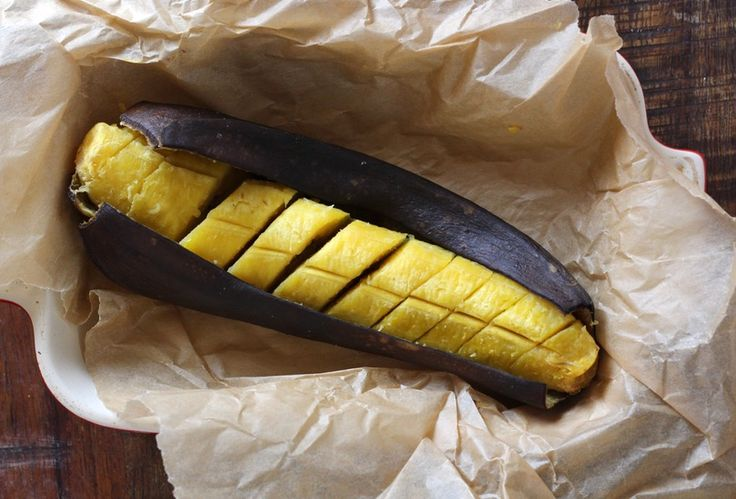 One-Step Baked Plantains (Move over, baked sweet potatoes!)