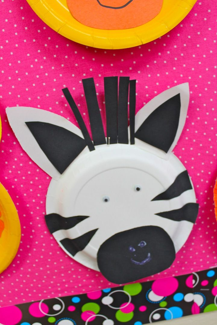 zebra craft ideas 1000 ideas about paper plate animals on paper 3282
