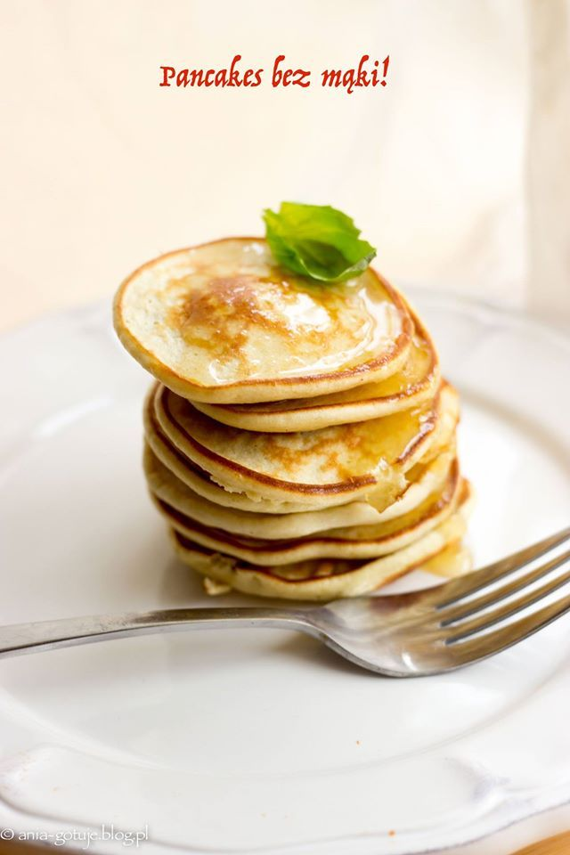 Pancakes: bez mąki i bez glutenu ! Pyszne śniadanie