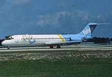 ValuJet DC-9-32; N1266L@FLL, February 1994 (5423968471).jpg