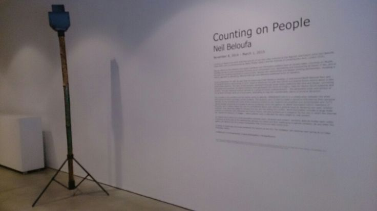 Neil Beloufa, Counting on People - Walter Phillips Gallery - Banff Center