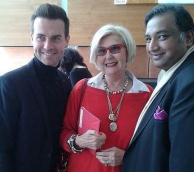 With Barak Tomlin & Gavin Rajah