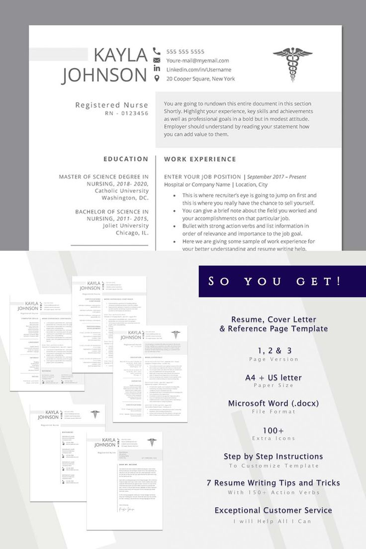 Pin on nurse practitioner resume template