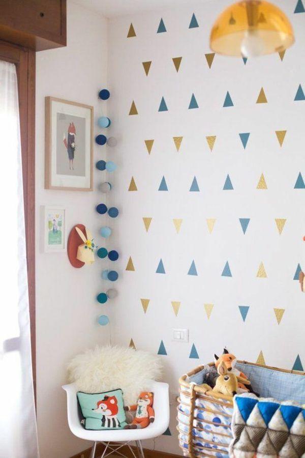 Vintage Niedliche Babyzimmer Wandgestaltung Inspirierende Wandgestaltung Ideen http freshideen