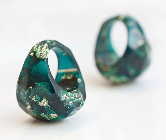 best 25 resin ring ideas on jewelry
