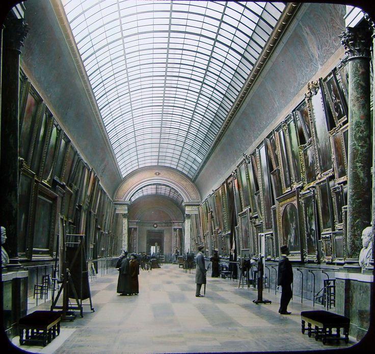 The Louvre - the Grande Galerie - Paris