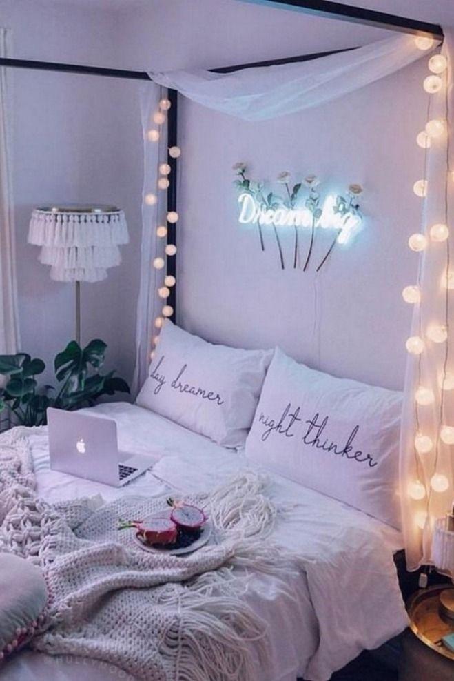 30 Charming Stylish Ideas For A Teenage Girl S Dream Bedroom 8 In 2020 Small Room Bedroom Bedroom Design Room Decor Bedroom
