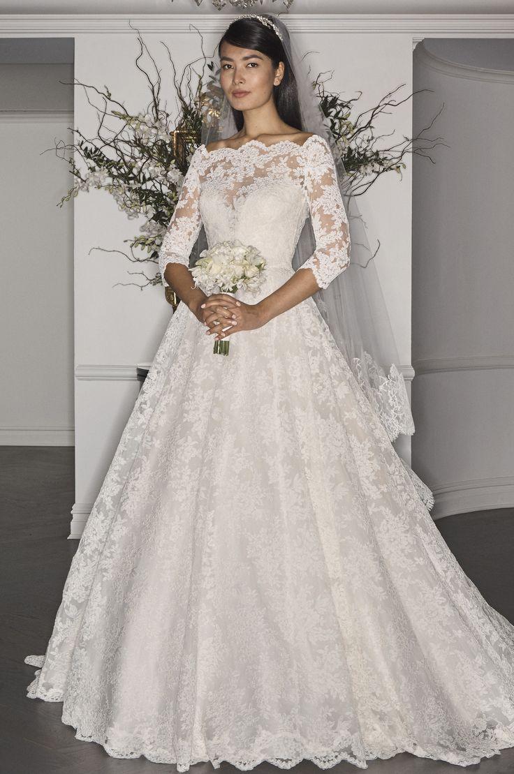 Legends by Romona Keveza Bridal Week Fall 2017 - http://www.stylemepretty.com/2016/10/12/legends-by-romona-keveza-bridal-week-fall-2017-wedding-dresses/