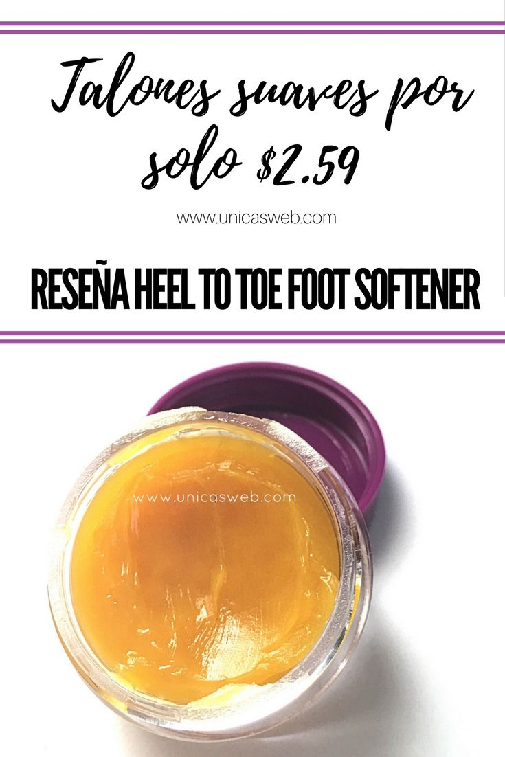 Crema de Sally Beauty | Talones suaves por solo $2.59. Reseña Heel to toe foot softener