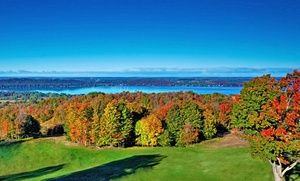 Groupon - Stay at Shanty Creek Resorts' Summit Village Lakeview Hotel in Bellaire, MI. Dates into December. in Bellaire, MI. Groupon deal price: $89