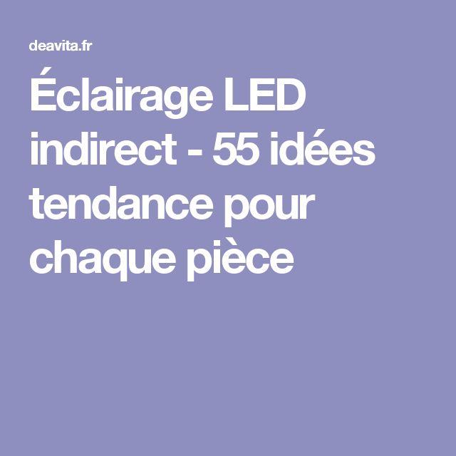 Éclairage LED indirect - 55 idées tendance pour chaque pièce  LED ...