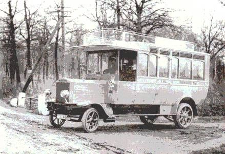 Ganz-Büssing autóbusz 1912