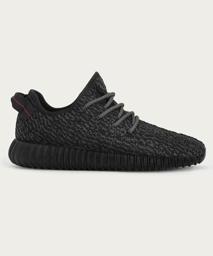 http://www.fashiontrendstoday.com/category/yeezus/ Get your hands on Kanye West's Yeezy Boost 350 in black.