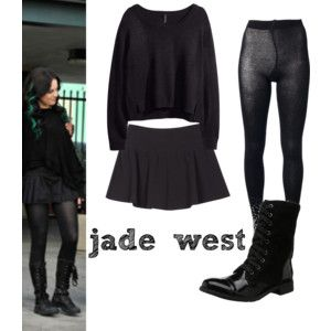 look de jade west (victorius)