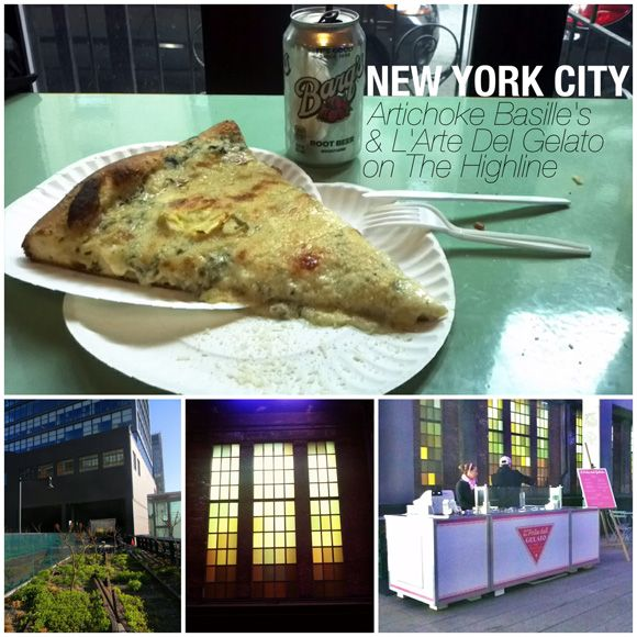 Travel Guide: NYC - Pizza & Gelato On The High Line - starryeyedgypsy.com