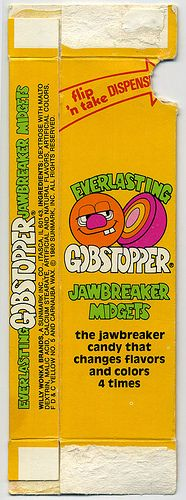 how to eat a gobstopper