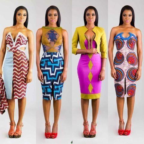 Modern african style dresses