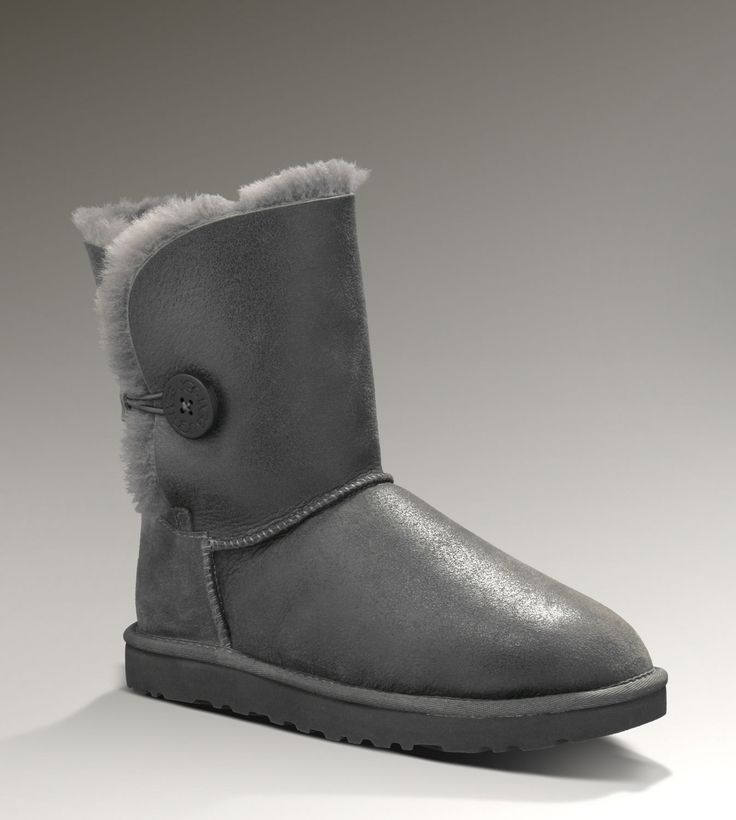 UK Online - UGG Bailey Bow - man gray (Grey)