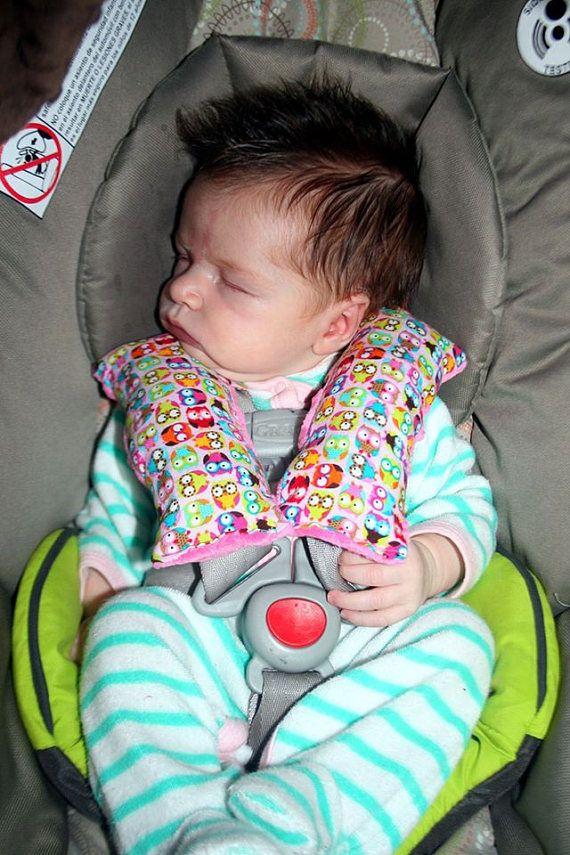 Design Your Own Infant Seat Belt Pillows  Infant Travel