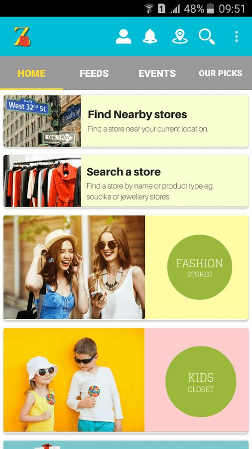 ZopTag - Shop at unique stores- screenshot