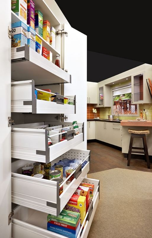 1000 Images About Kitchens Drawers Space Tower On Pinterest Shelves Small Kitchen
