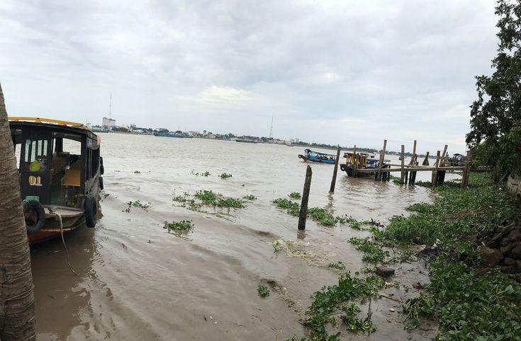 Vánoce v Asii: 05. Ne-turisti na výletě k deltě řeky Mekong