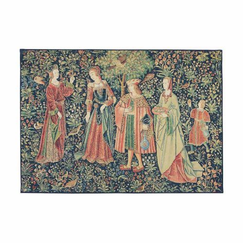 The Noble Promenade Tapestry is part of the tapestry collection at English Heritage. A lovely tapestry gift for any home. Buy the Noble Promenade Tapestry online at the English Heritage shop.