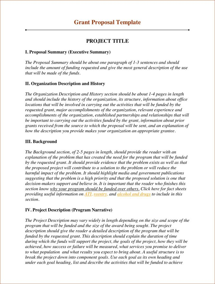 93 best grants images on Pinterest - non profit proposal template