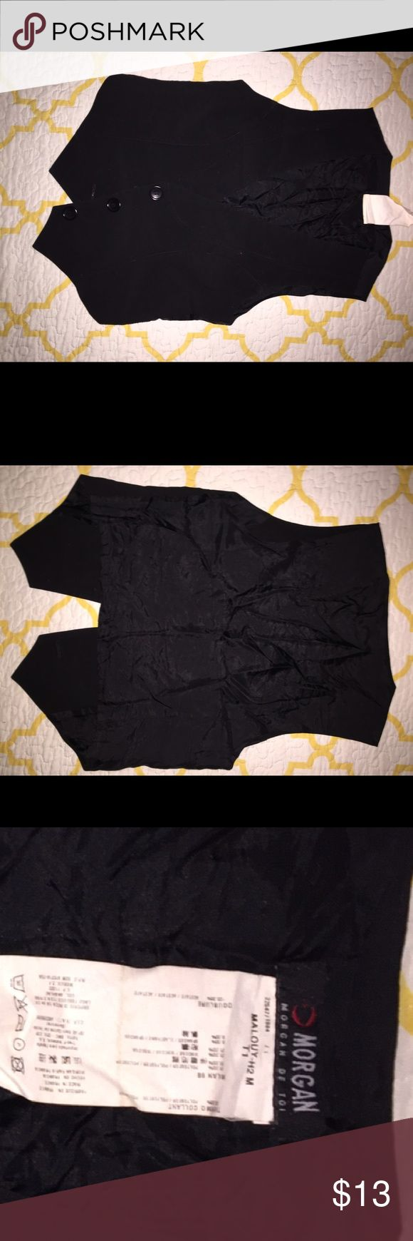 Morgan de Toi vest Cute vest. Can be worn by itself or on top of a shirt. Size 1. Morgan Other