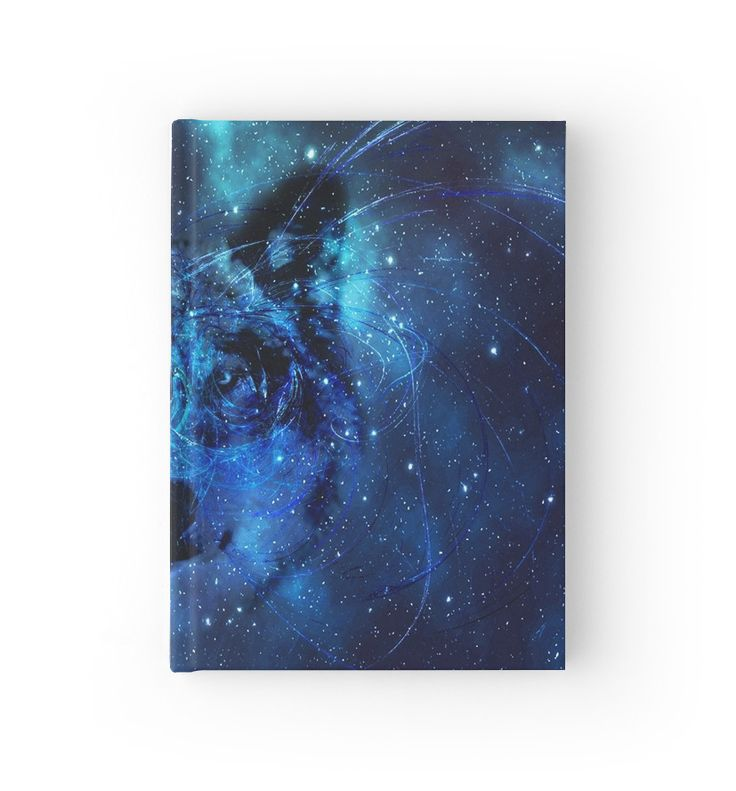 """Wolf Spirit"" Hardcover Journals by scardesign11 
