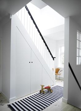 strakke kast onder de trap