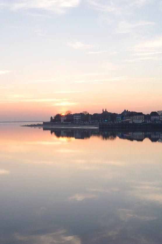 JOELIX.com | la Baie de Somme sunset over Le Crotoy #picardie #france