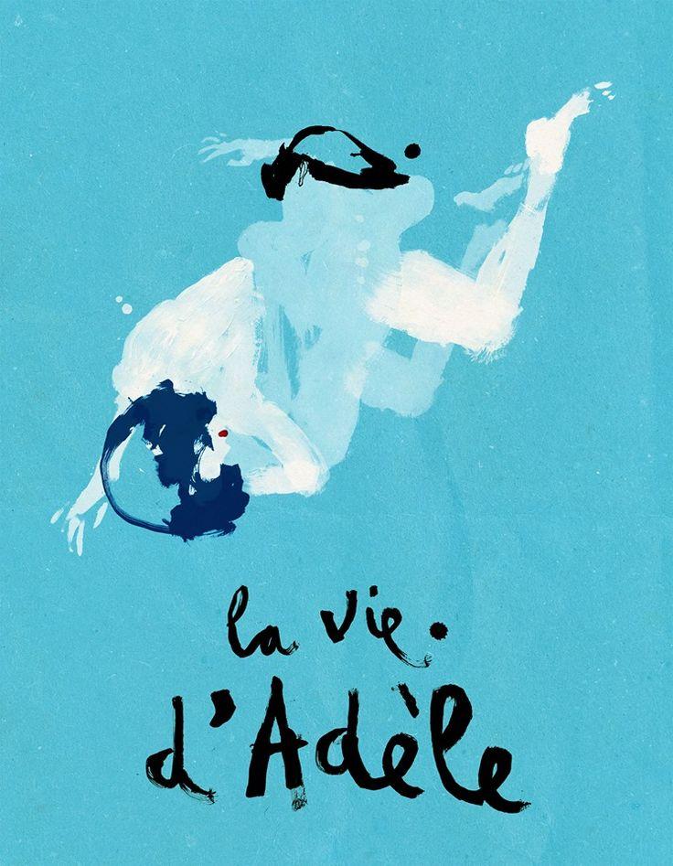 blue is the warmest colour Conrad Roset reż. Abdellatif Kechiche