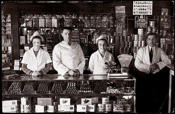 Capitol Picture Theatre Milk Bar in Wagga Wagga NSW, c. mid-1930s.