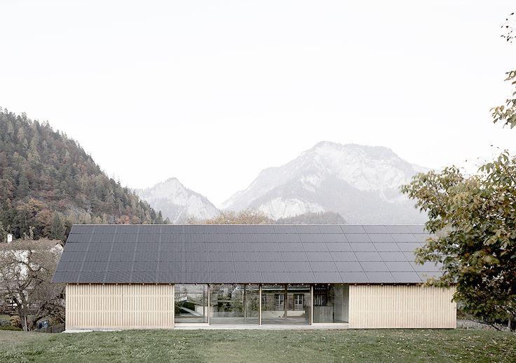 115 best ALPINE MODERN images on Pinterest | Alpine modern, Facades ...