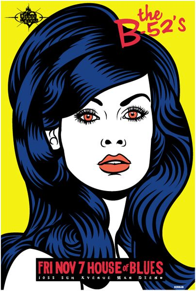 Poster inspiration — The B-52's