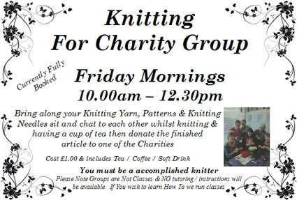 Knitting For Charity Group