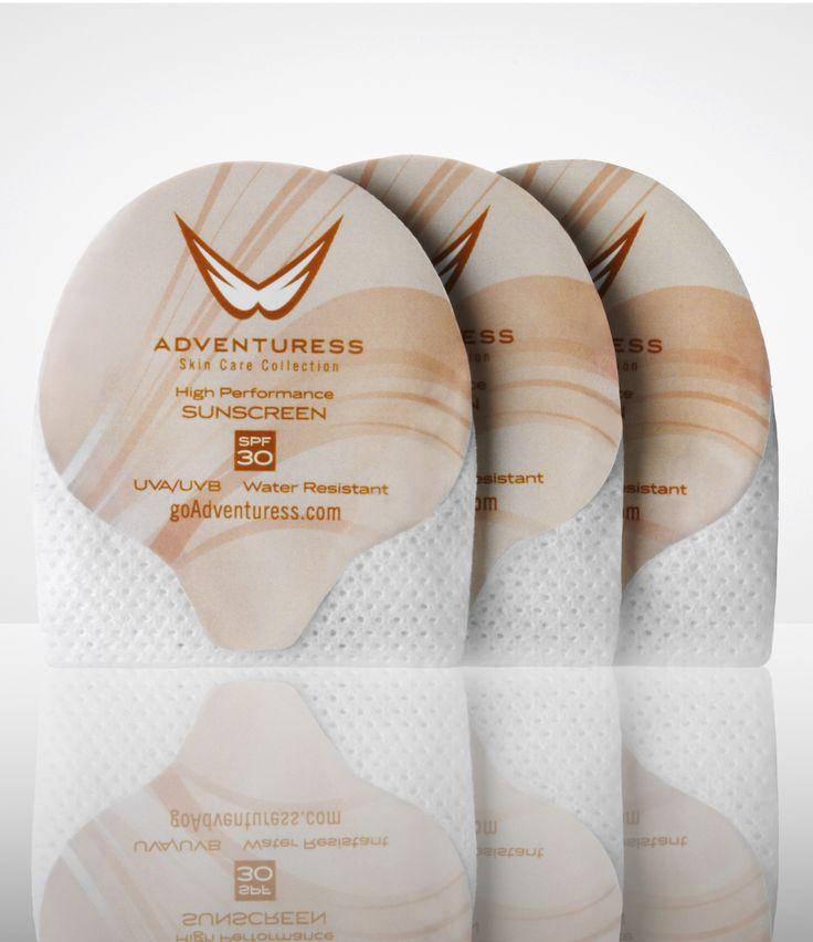 Adventuress YouVee's Sunscreen Wipes