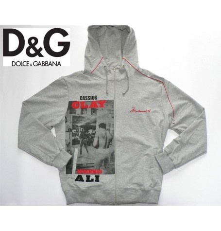 New 2012 D & G Cassius Clay Mens Tracksuit      Fabric: Cotton and Elastan      High quality double reinforced seam!!!    Brand new with tags!