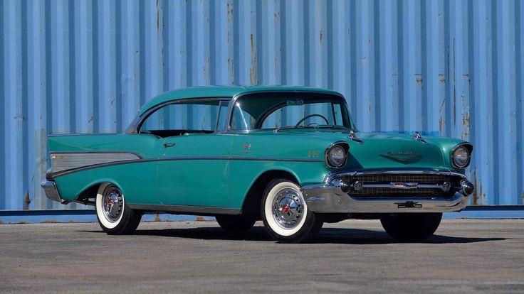 1957 Chevrolet Bel Air Hardtop presented as Lot R413 at Kissimmee, FL